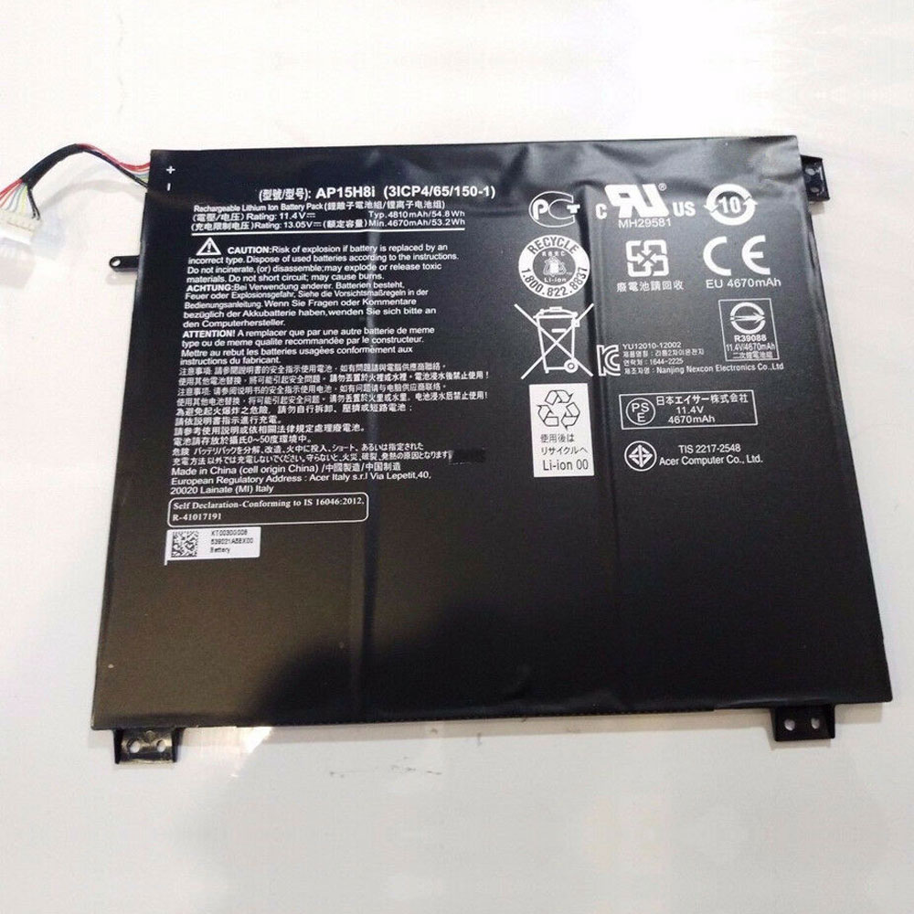 3834b13484 Acer Batterie di Ricambio - Batteria tablet Acer